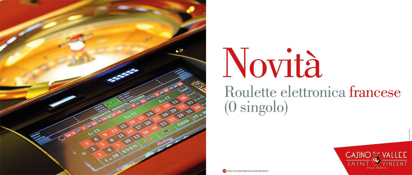 Novità Roulette Elettronica Francese