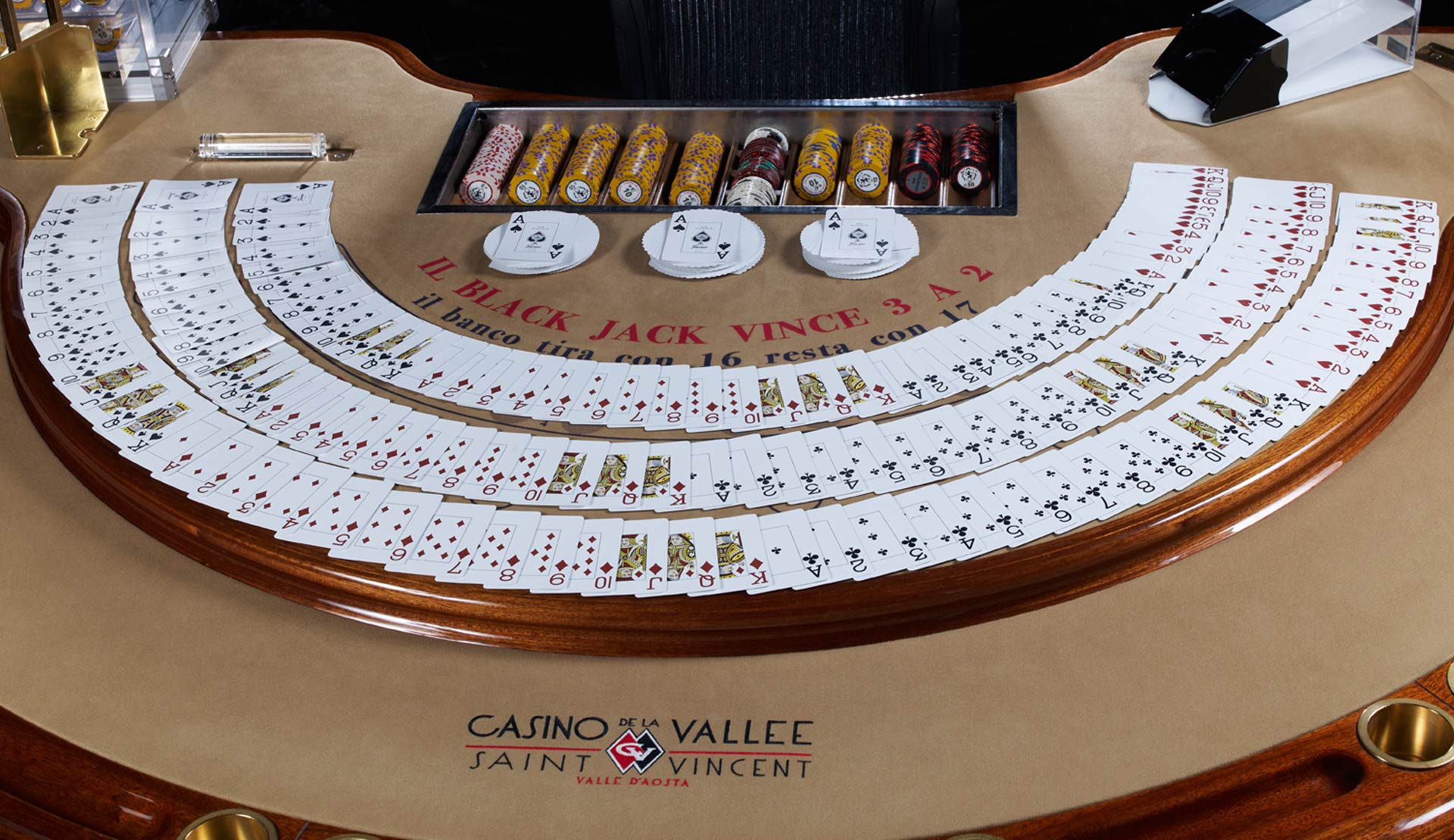 blackjack casino di saint vincent