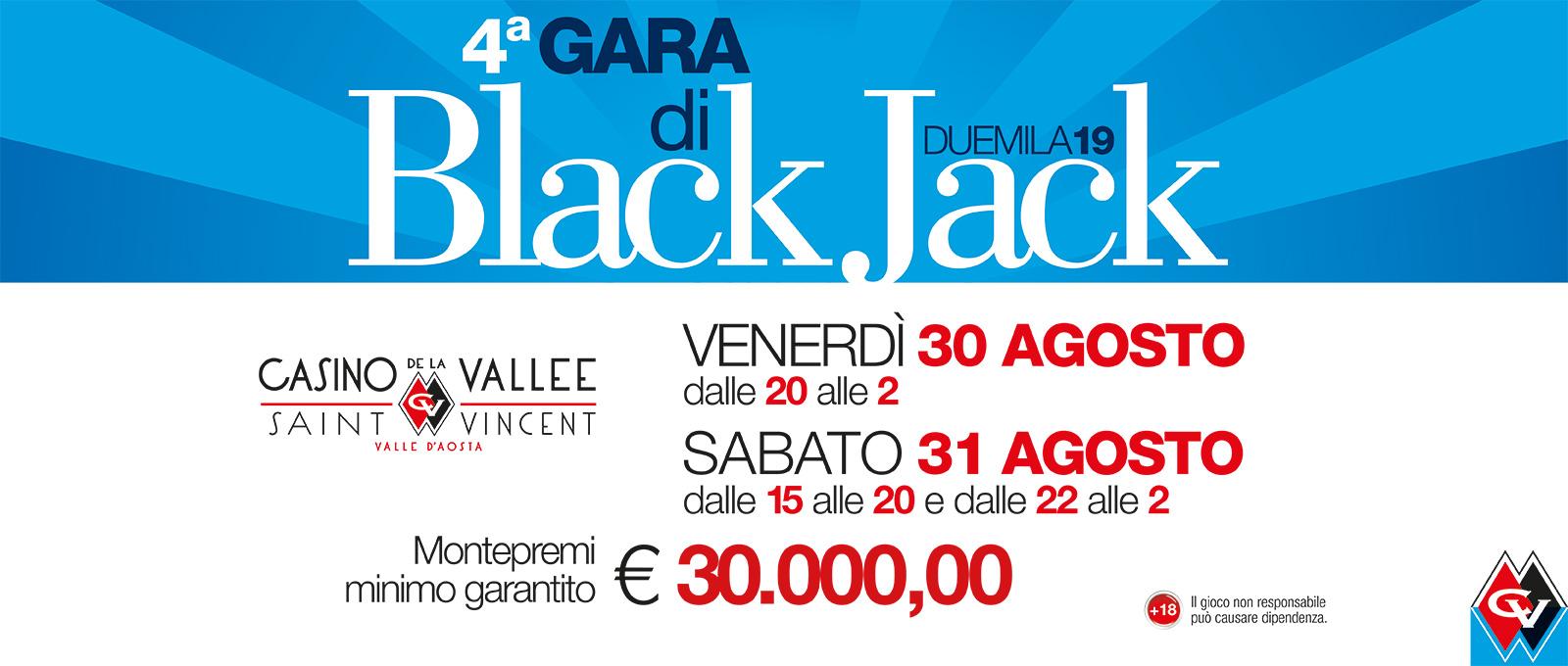 Quarta Gara di Black Jack