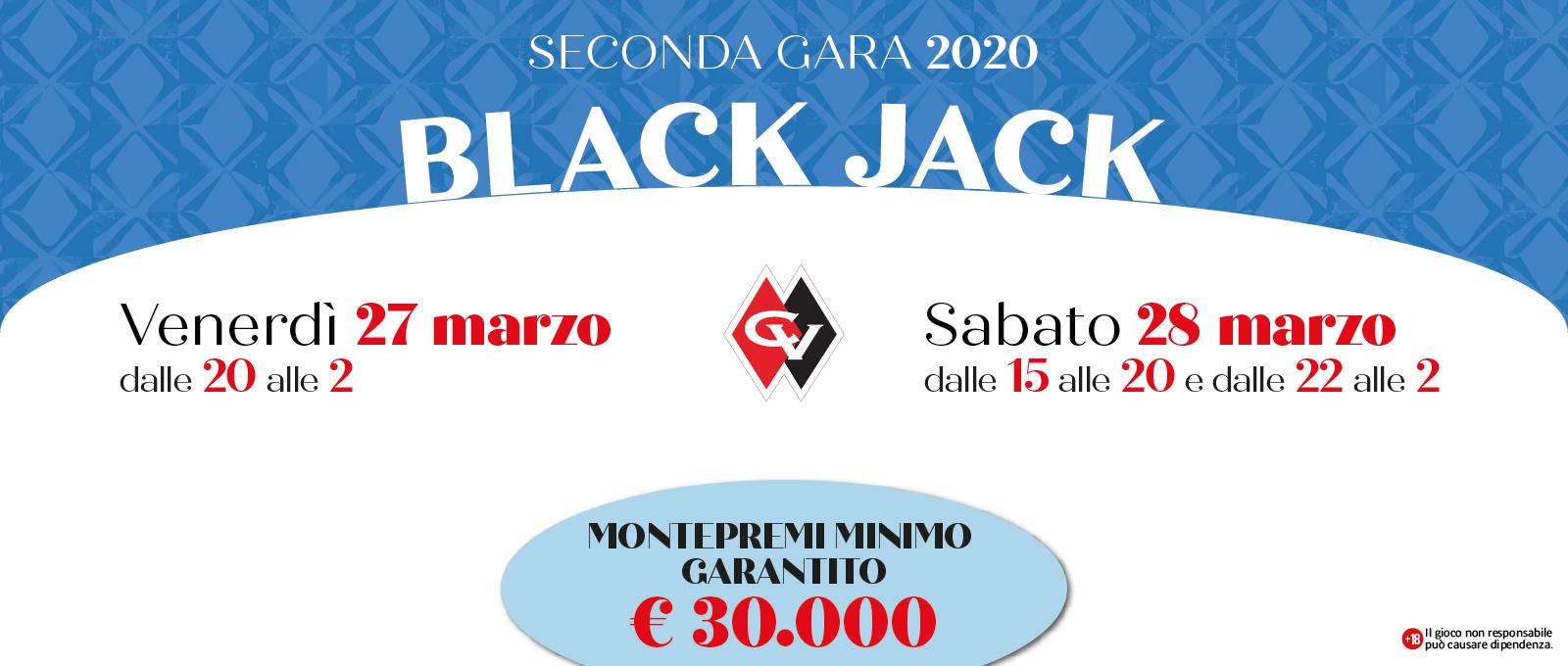 Seconda Gara di Black Jack