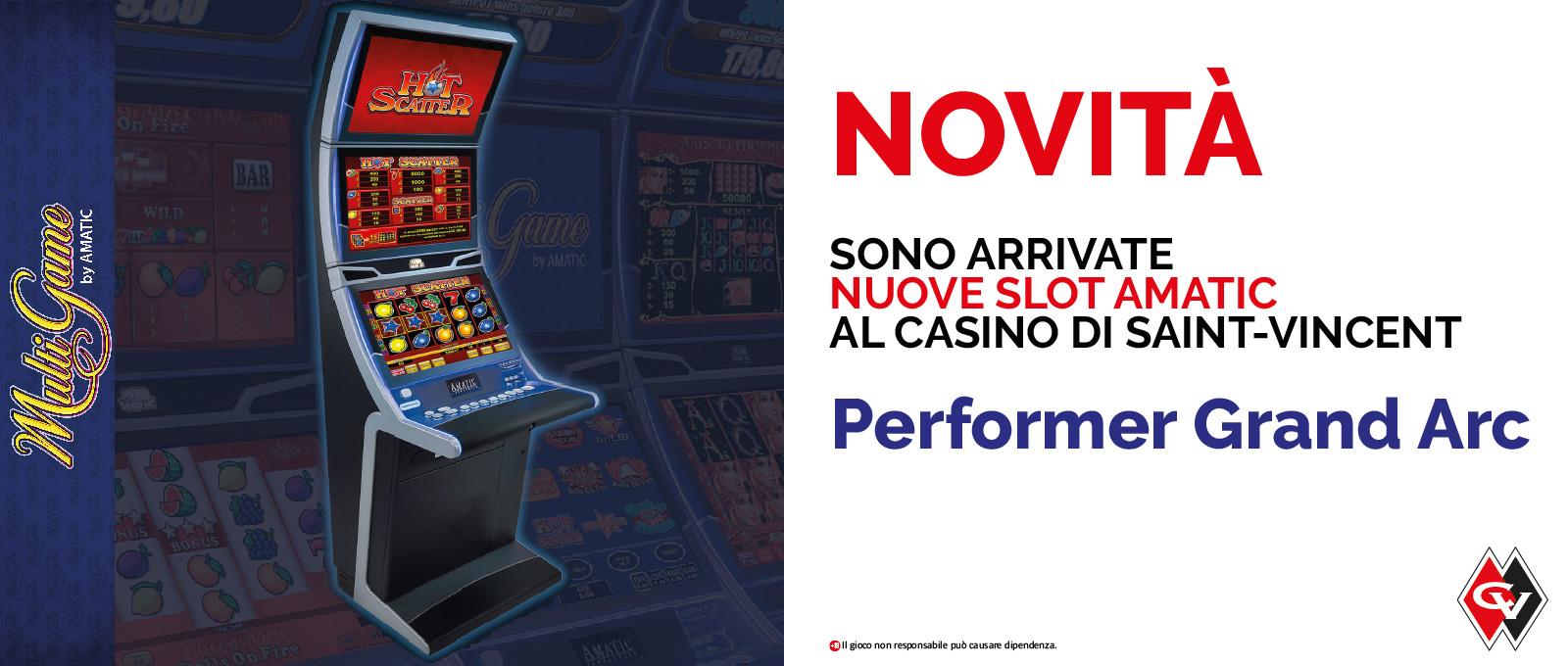Vieni a scoprire le nuove slot Amatic!
